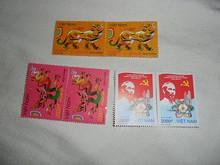 郵便局で手に入れた切手