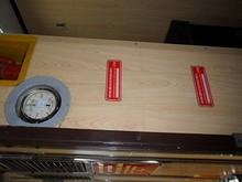 ブレーキ圧力計と身長計