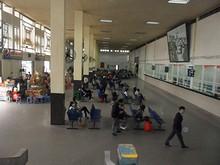 ザーラムバスターミナルの中