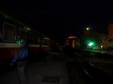 早朝、ラオカイ駅に到着