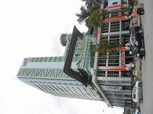 中国資本のビルはホテルが入っている模様