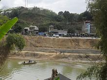 対岸はベトナム