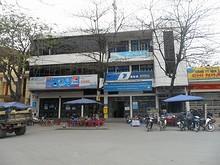 駅前の郵便局
