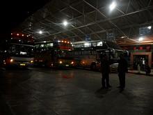 墨江のバスターミナル