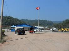 ラオス国境ゲート