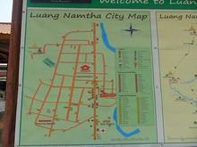 ルアンナムター市街マップ