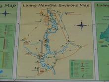ルアンナムター環境マップ