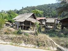 国道沿いの農村