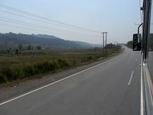 国道3号線沿い