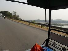 メコン川が見えてきた。