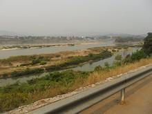 メコン川がよく見える