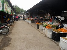 市場の通り