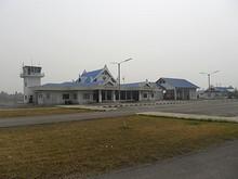 ルアンナムター空港ターミナル