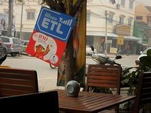 ETLの看板