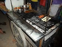 串焼き屋台
