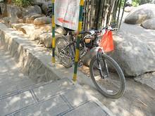 借りた自転車