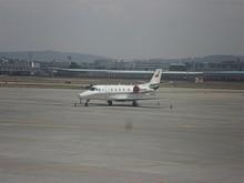 航空局のビジネスジェット B-9330