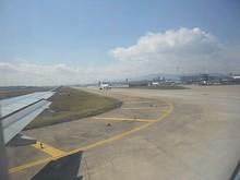 後ろをくっ付いてくるB-737
