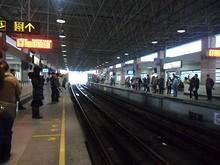 地下鉄駅ホーム