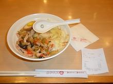 夕飯の白菜ぶっかけ飯