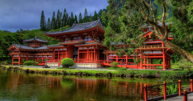 Byodo-In Temple - Hawaii Pictures