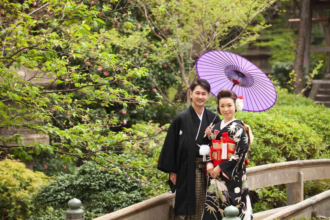 歴史ある日本庭園